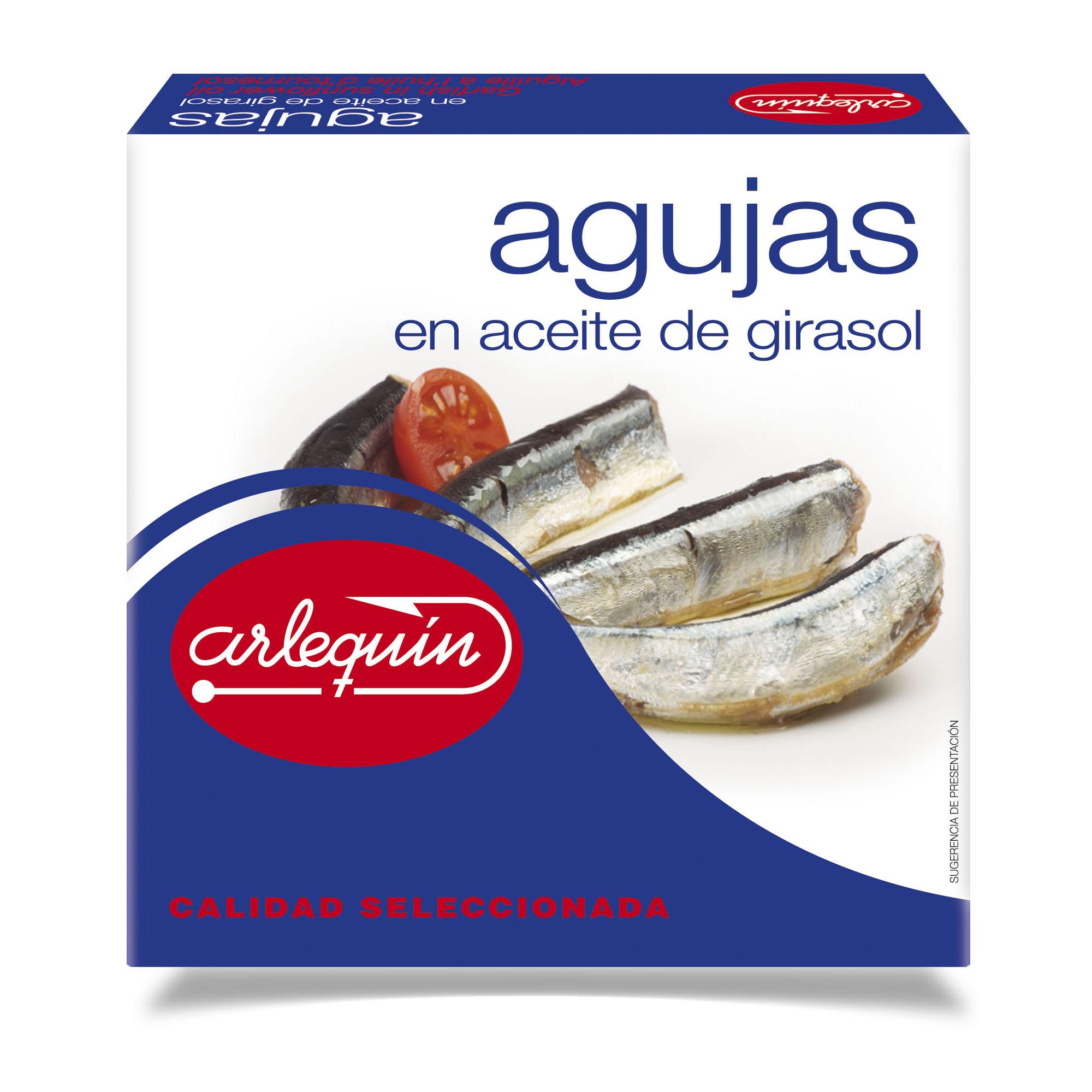 Agujas - Conservas Arlequín