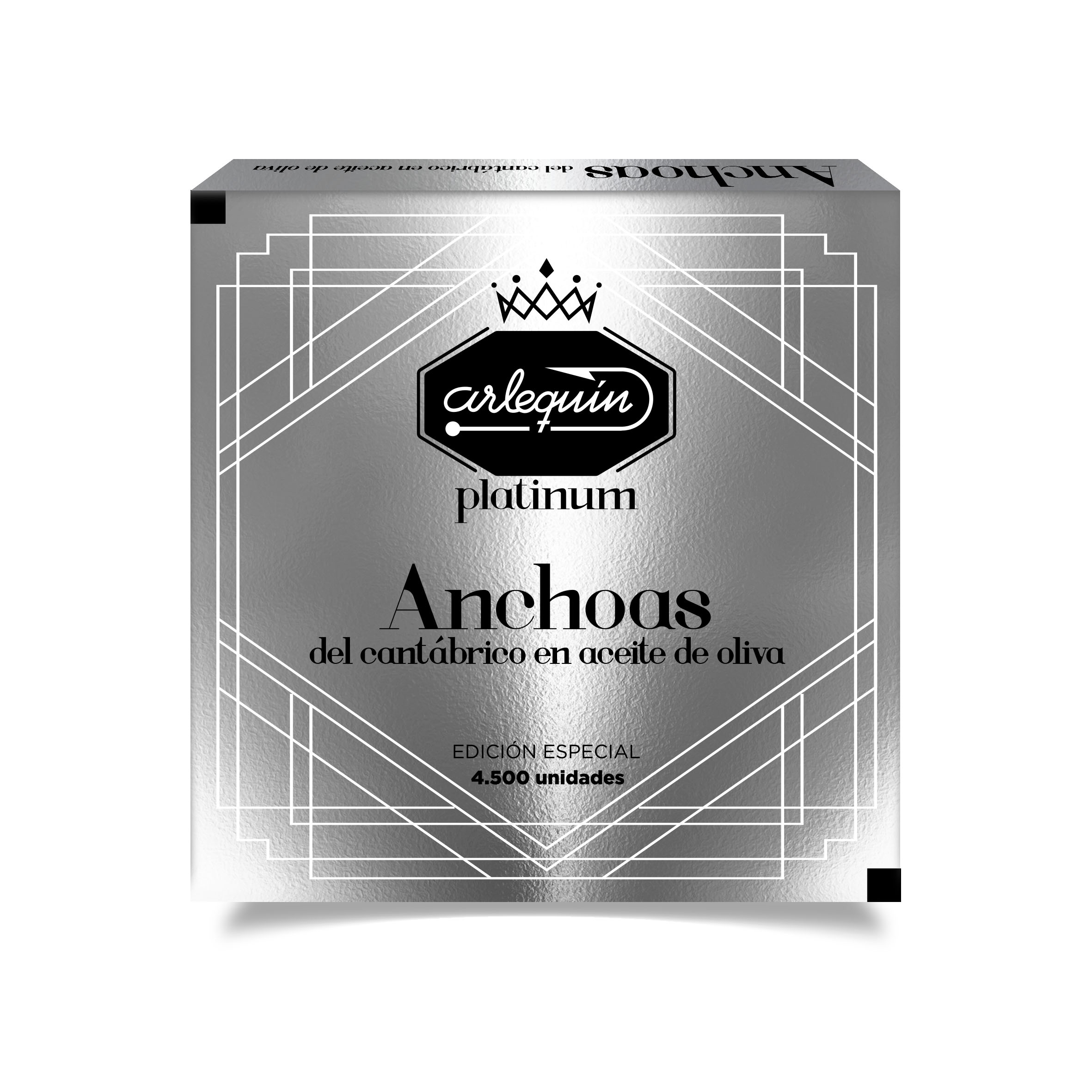 Anchoas - Arlequín Serie Platinum