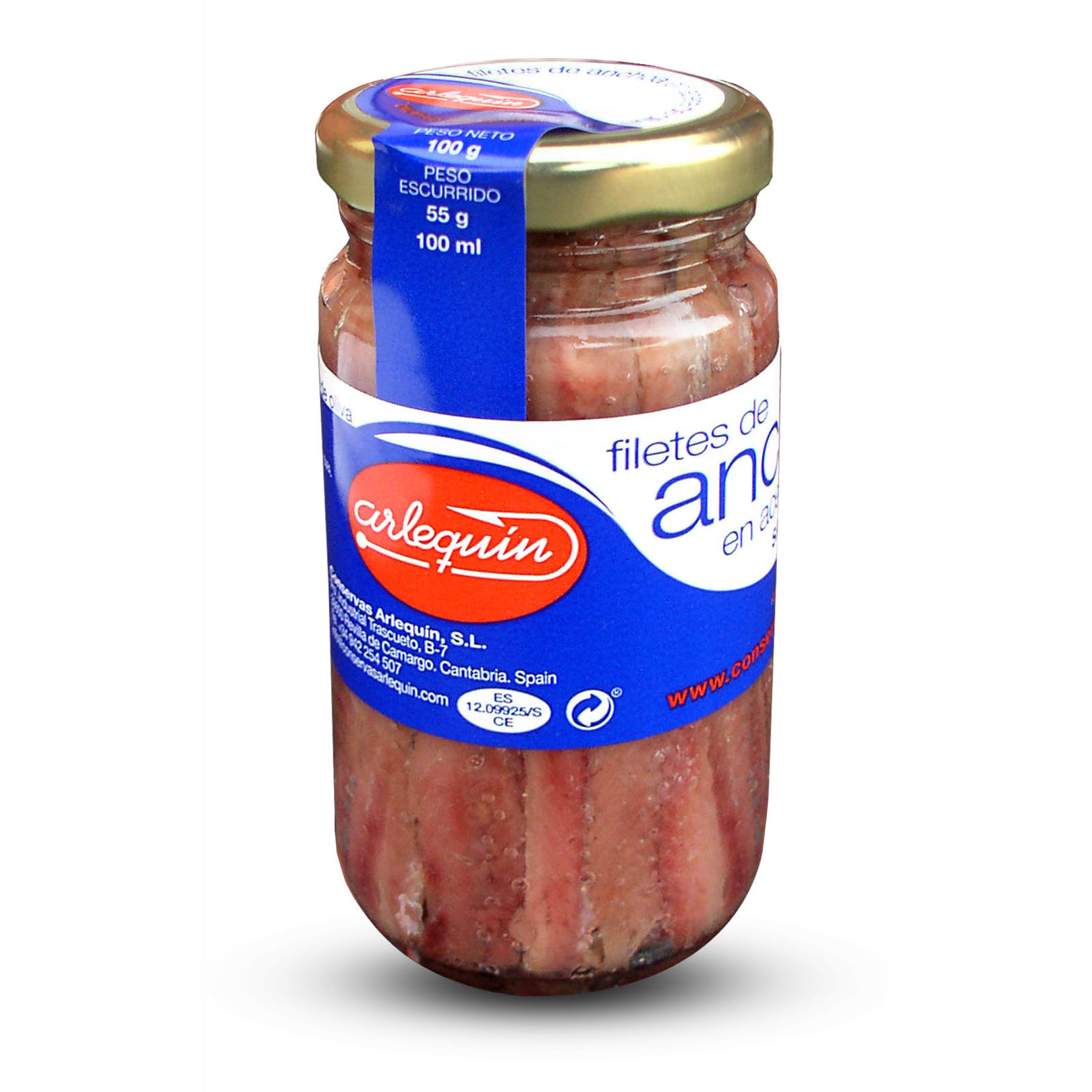 Anchoas - Conservas Arlequín