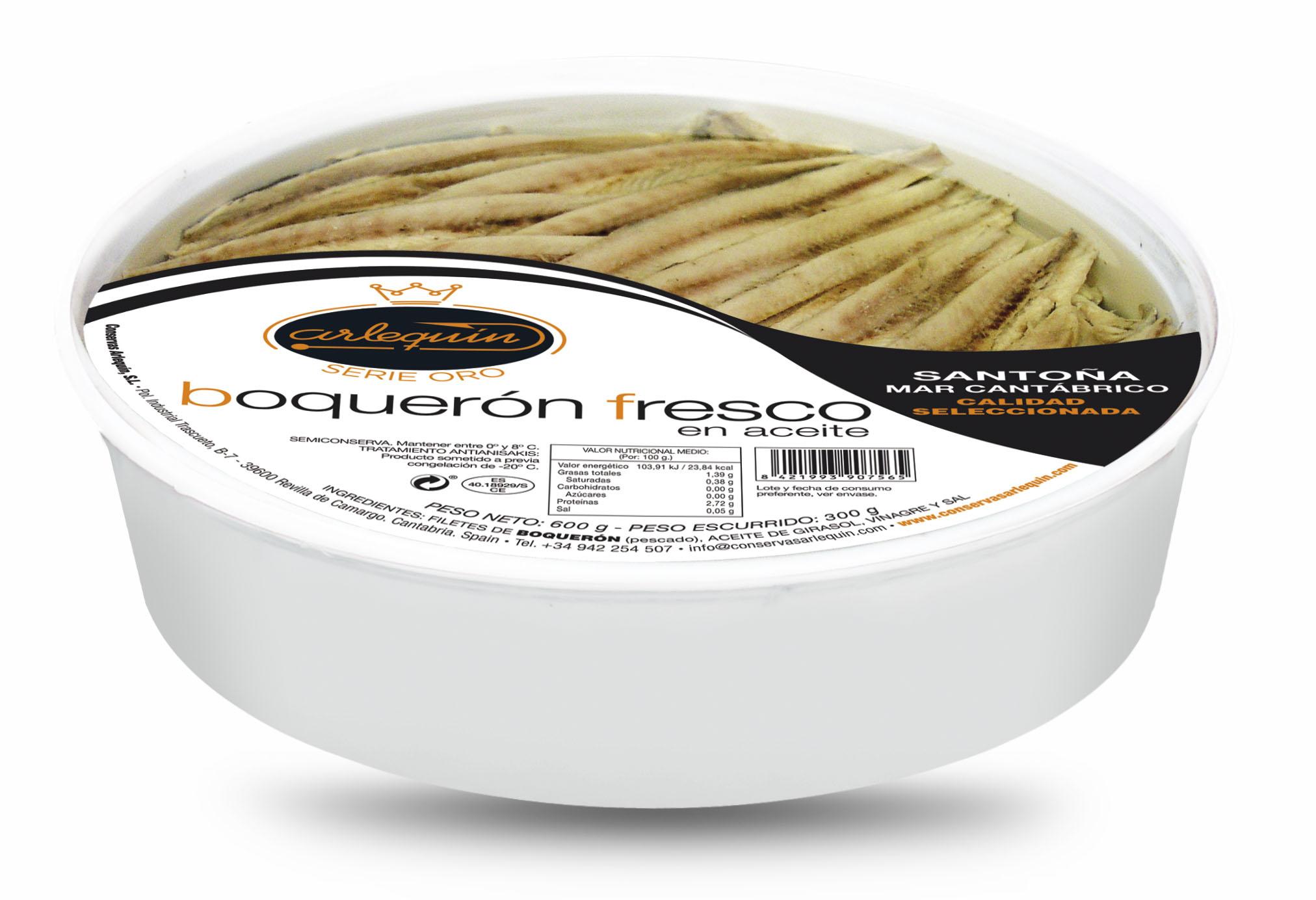 Boquerones - Arlequín Serie Oro