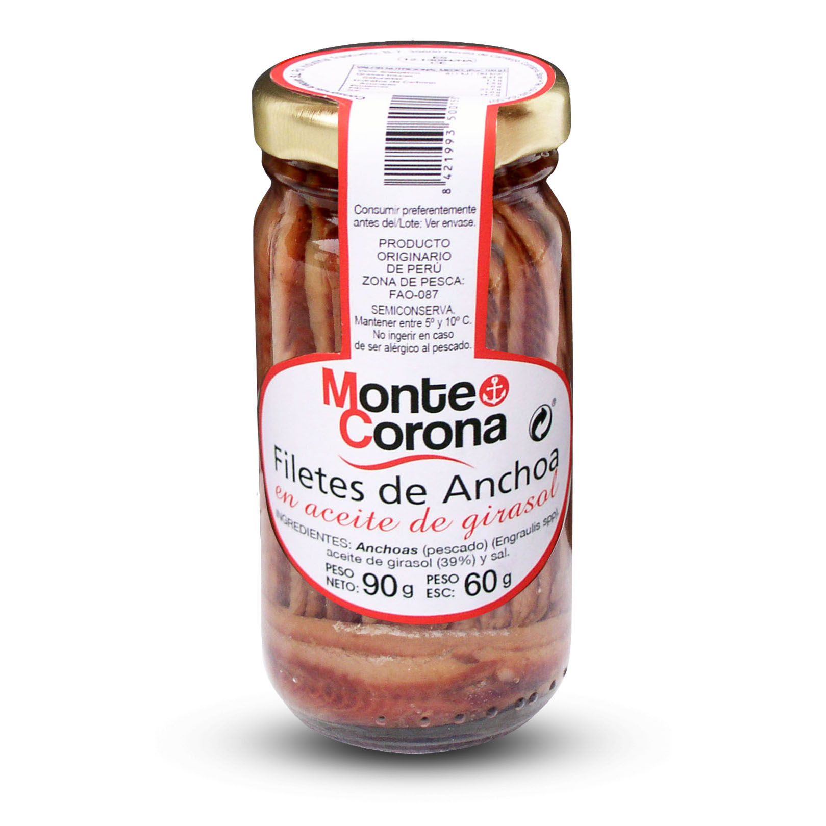 Anchoas - Conservas Monte Corona