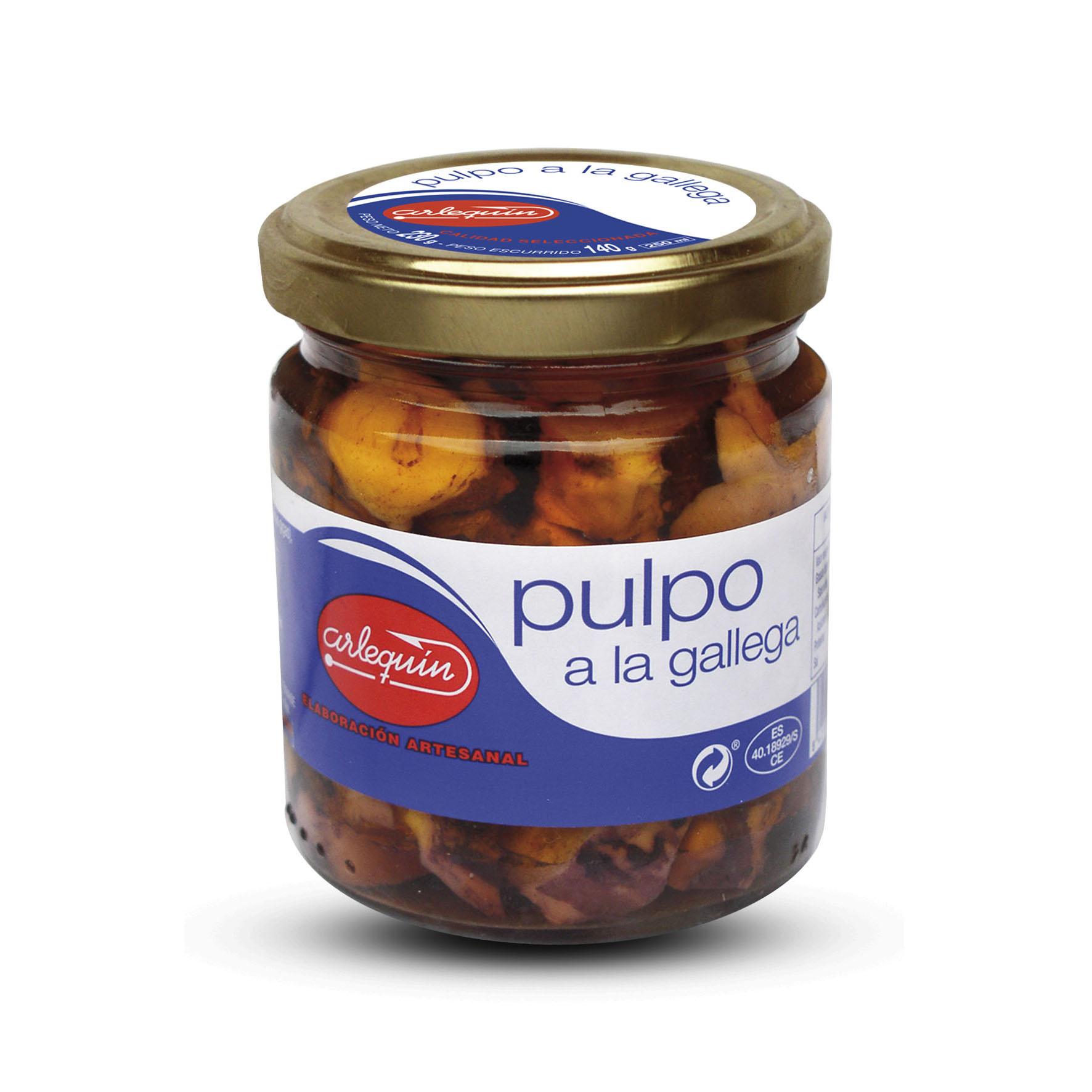 Pulpo - Conservas Arlequín
