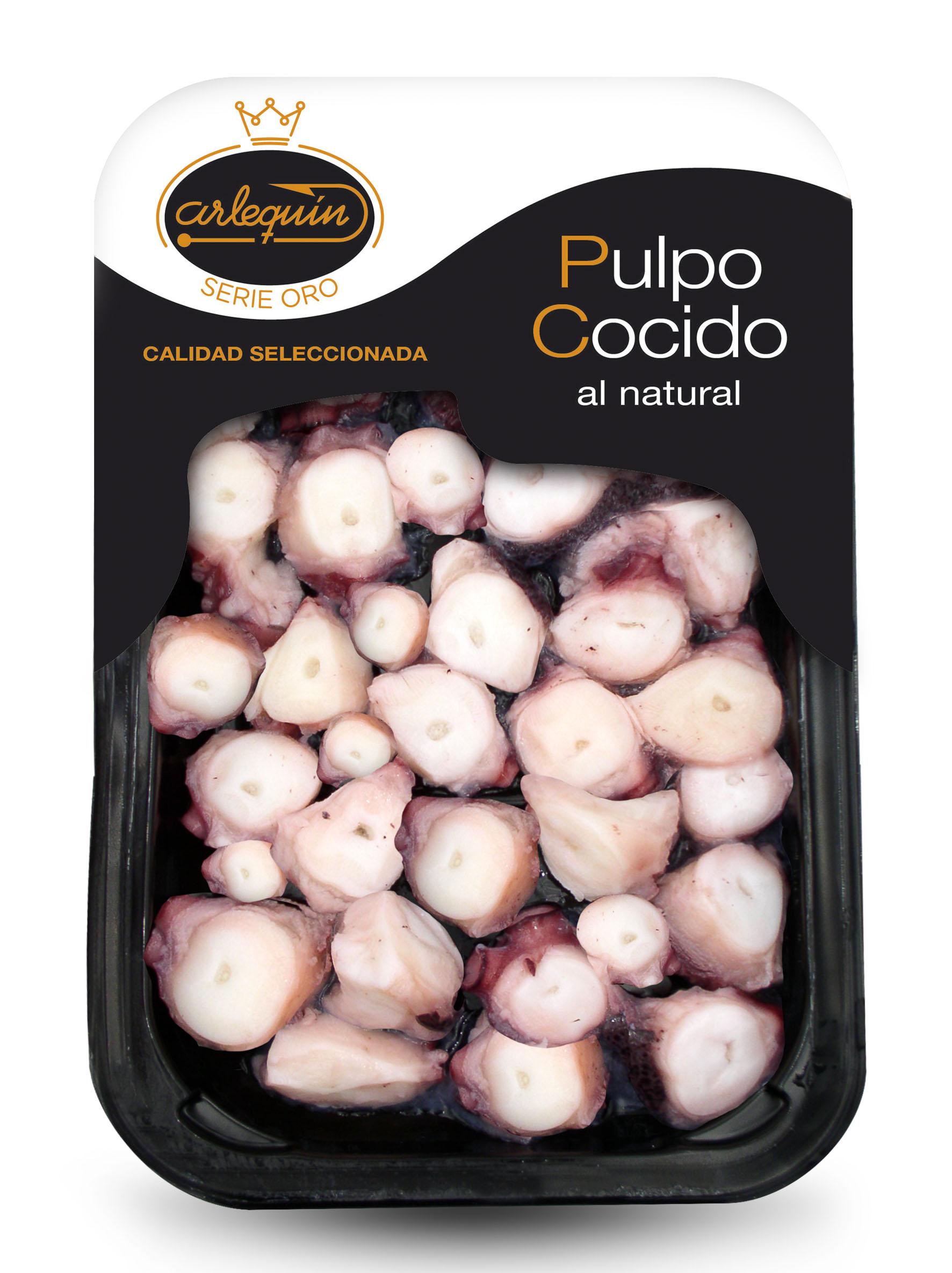 Pulpo cocido - Arlequín Serie Oro