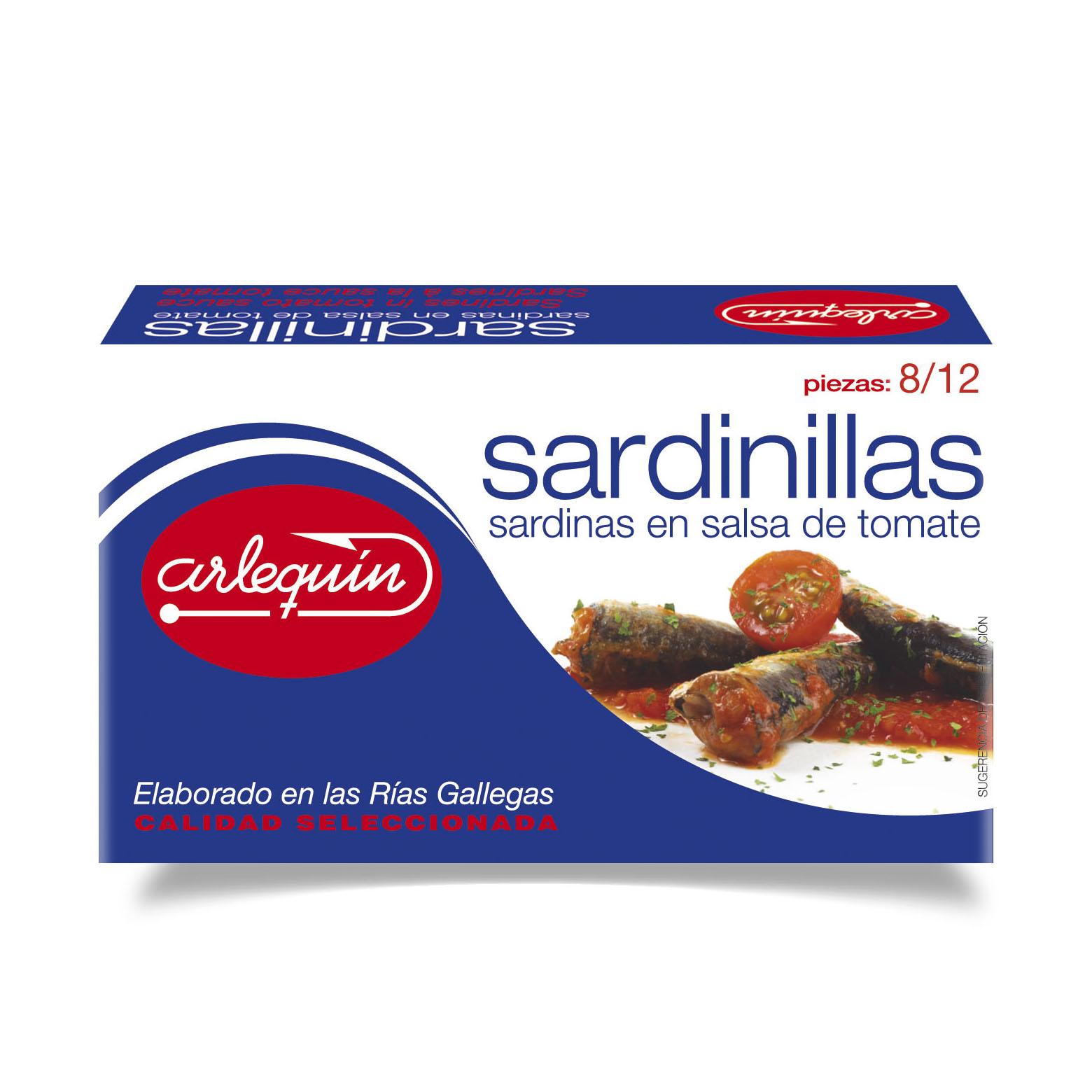 Sardinillas - Conservas Arlequín
