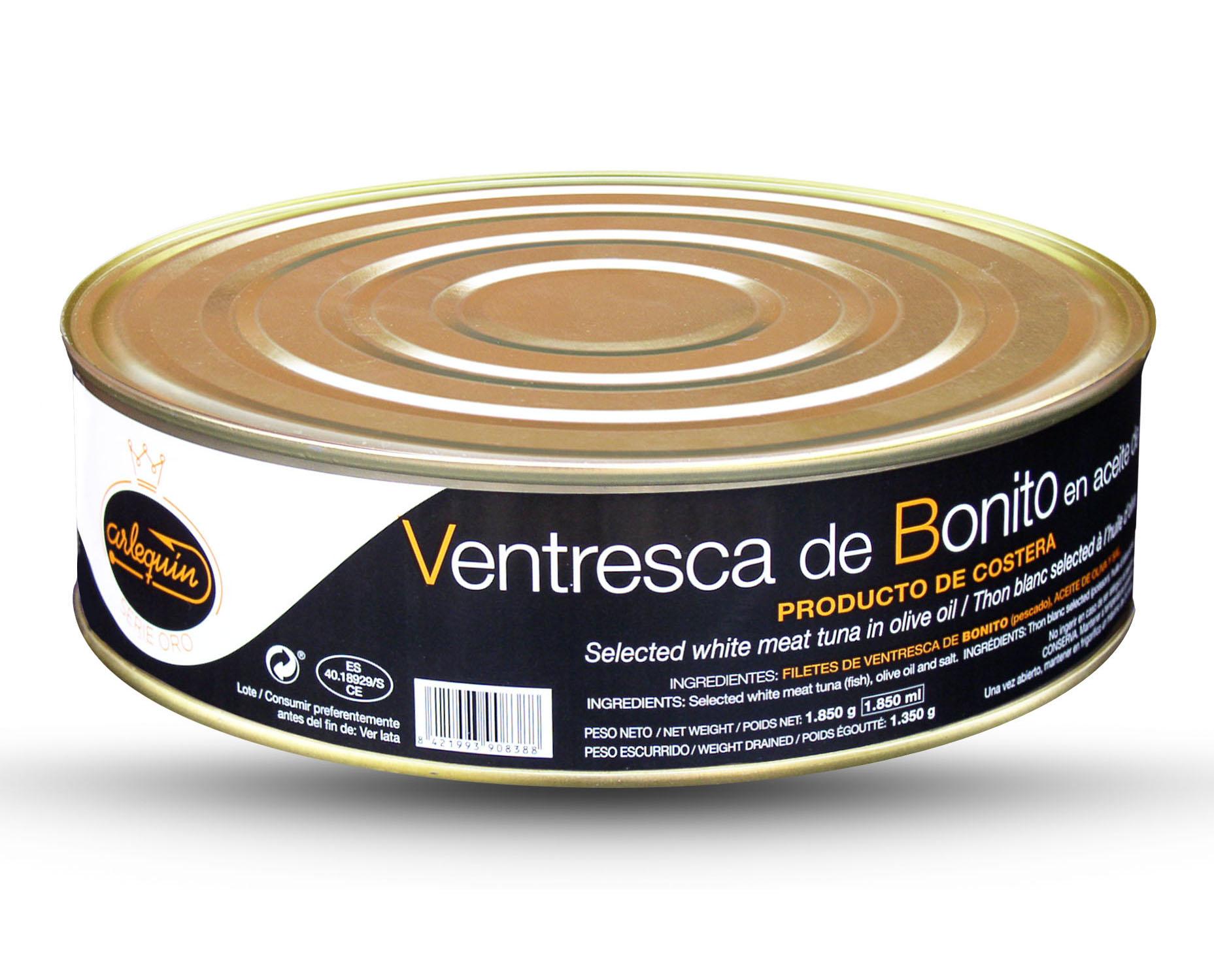 Ventresca de bonito - Arlequín Serie Oro