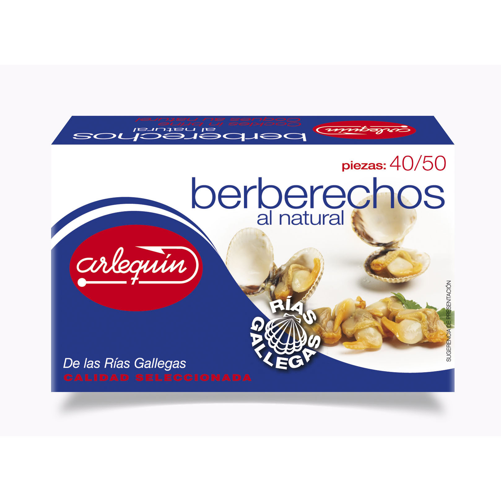 Berberechos de las Rías Gallegas - Conservas Arlequín