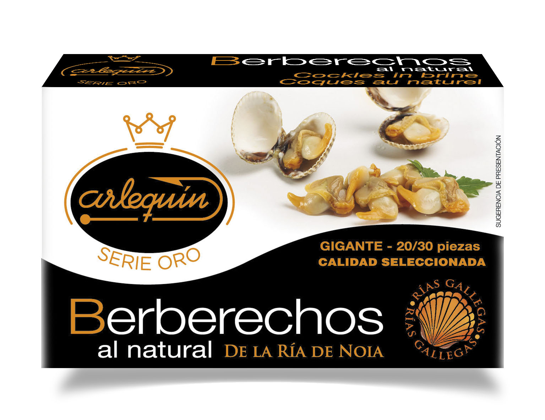 Berberechos - Arlequín Serie Oro