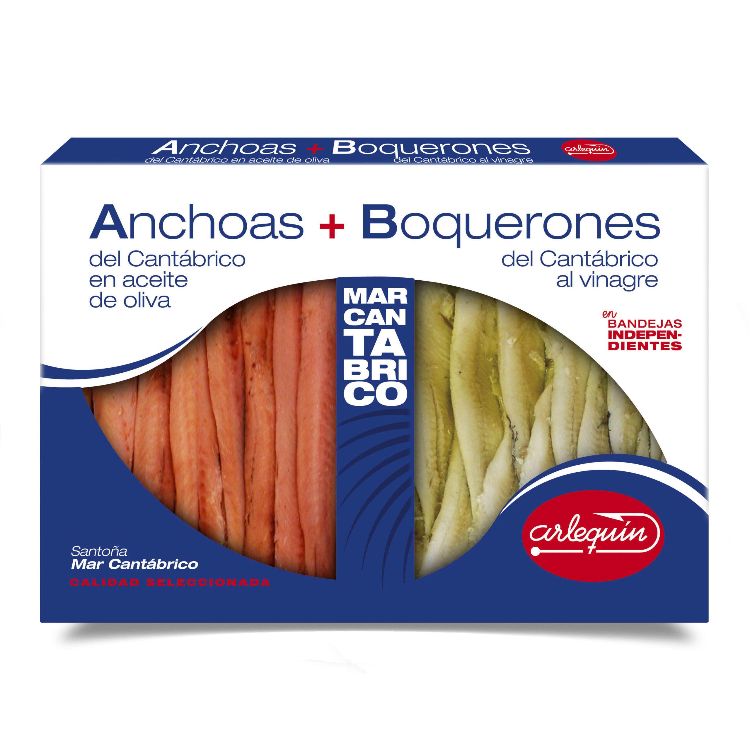 Anchoas Boquerón - Conservas Arlequín