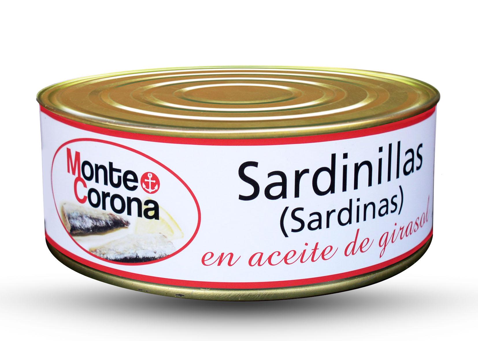 Sardinillas - Conservas Monte Corona