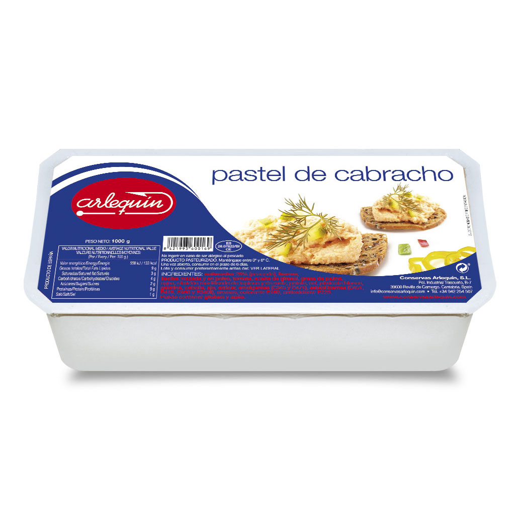 Pastel - Conservas Arlequín